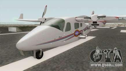 Bandung Pilot Academy Tecnam P2006T for GTA San Andreas