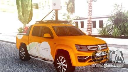 Volkswagen Amarok V6 Yandex.Card for GTA San Andreas
