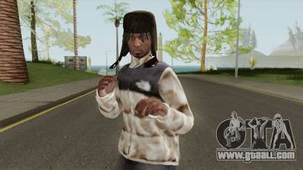 Skin Random 136 (Outfit North Face) for GTA San Andreas
