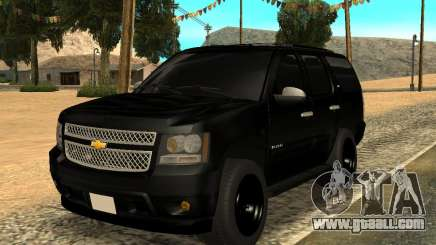 Chevrolet Tahoe Black for GTA San Andreas