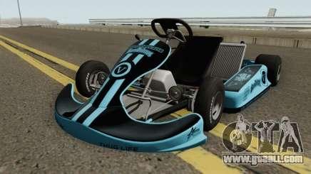 Shifter Kart 125CC HQ for GTA San Andreas