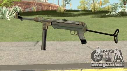 MP 40 MQ for GTA San Andreas