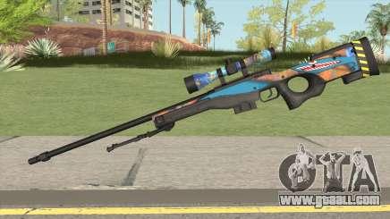 Sniper Rifle (Monster Skin) for GTA San Andreas