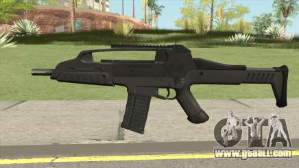 XM8 Compact V2 Black for GTA San Andreas