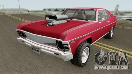Declasse Vamos GTA V (Custom Bonnet) IVF for GTA San Andreas