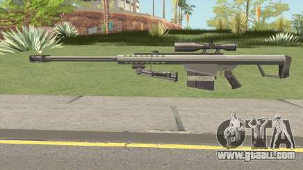 Barrett M82 Anti-Material Sniper V2 for GTA San Andreas