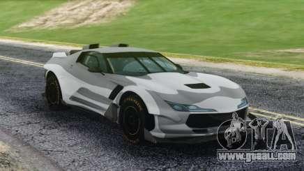 Chevrolet Corvette Sport Camo for GTA San Andreas