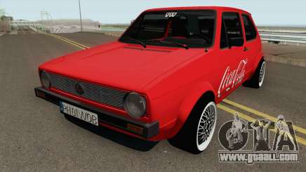 Volkswagen Golf C - Coca Cola Edition 1983 for GTA San Andreas