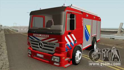 Mercedes Benz Actros Vatrogasci for GTA San Andreas