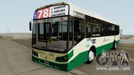 Todobus Pompeya II Agrale MT15 Linea 78 Interno for GTA San Andreas