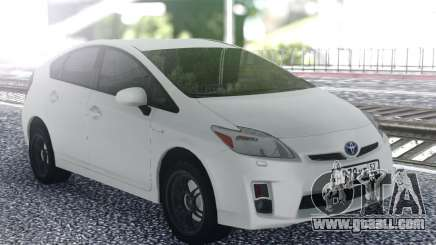 Toyota Prius White for GTA San Andreas