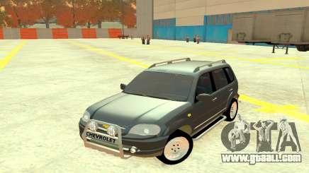Chevrolet Niva Grey for GTA 4