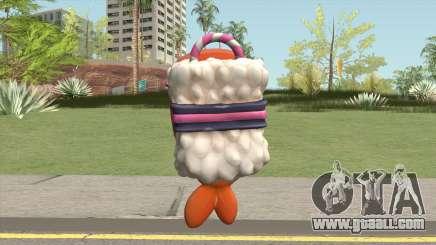 Sushi Backpack (Parachute) for GTA San Andreas