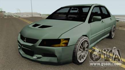 Mitsubishi Lancer Evolution IX (SA Style) for GTA San Andreas