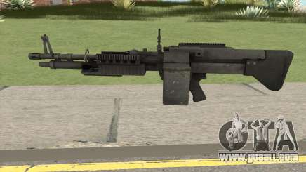 Battlefield 3 M60 for GTA San Andreas