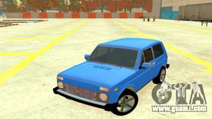 VAZ 2121 Blue 4x4 for GTA 4
