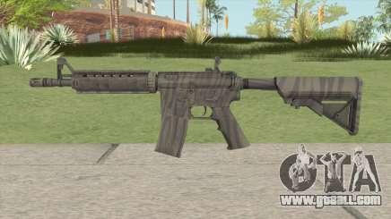 CS-GO M4A4 Faded Zebra for GTA San Andreas