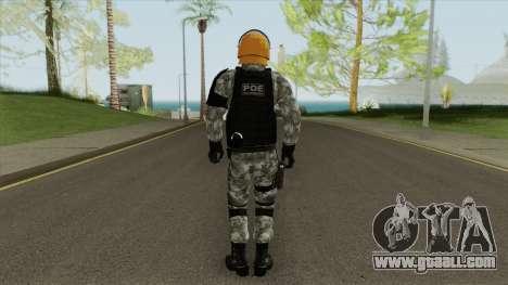 Skin Da Controle de Disturbios for GTA San Andreas