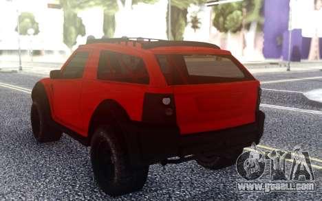 Range Rover Evoque for GTA San Andreas