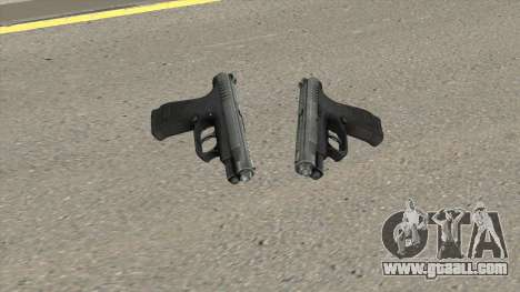 Contract Wars GSh-18 Pistol for GTA San Andreas