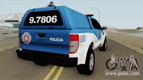 Ford Ranger 2017 CIPM for GTA San Andreas