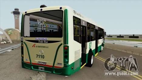 Linea 87 Todobus Pompeya II Agrale MT15 Interno for GTA San Andreas