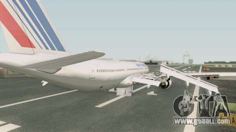 Airbus A330-200 GE CF6-80E1 (Air France) for GTA San Andreas