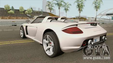 Porsche Carrera GT 2003 for GTA San Andreas