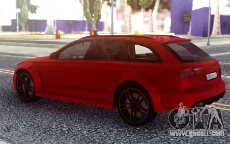 Audi RS6 Avant for GTA San Andreas