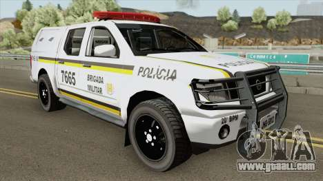Nissan Frontier Brazilian Police (Clean) for GTA San Andreas