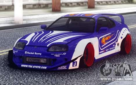 Toyota Supra Rocket Bunny for GTA San Andreas