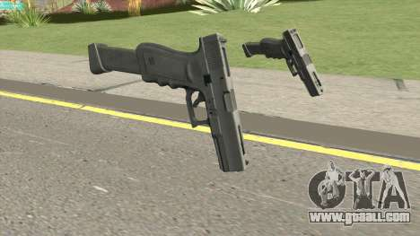 Contract Wars Glock 18 Extended for GTA San Andreas