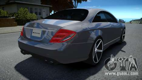 Mercedes-Benz CL 65 AMG for GTA 4
