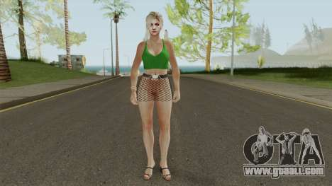 Jill Valentine Casual V2 for GTA San Andreas