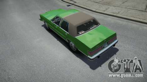 Mercury Grand Marquis LS 1986 for GTA 4
