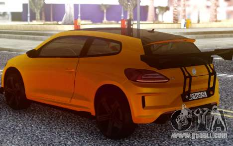 Volkswagen Scirocco GT Yellow for GTA San Andreas