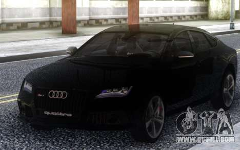 Audi Rs7 for GTA San Andreas