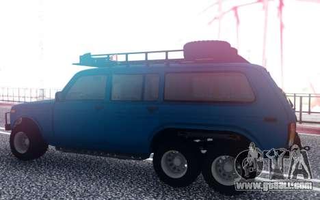 VAZ Niva 6x6 Offroad for GTA San Andreas
