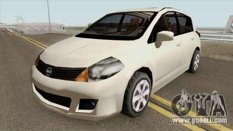 Nissan Tiida (SA Style) for GTA San Andreas