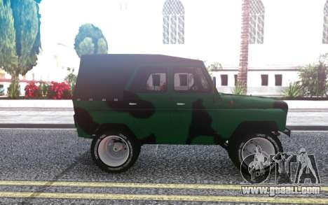 UAZ 469 from the video Pasha Pala for GTA San Andreas