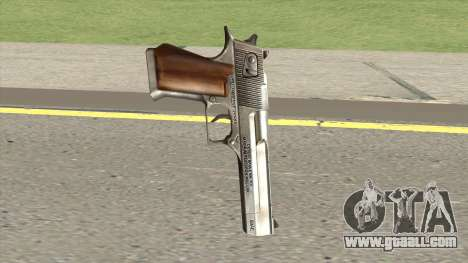 Desert Eagle Chrome GTA IV for GTA San Andreas