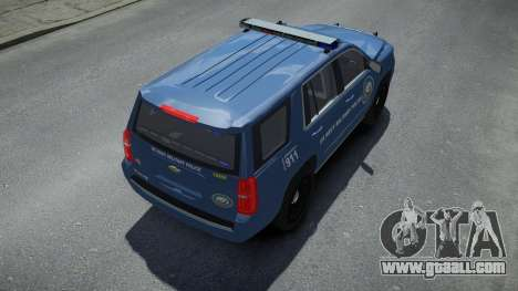 Chevrolet Tahoe US NAVY Military Police for GTA 4