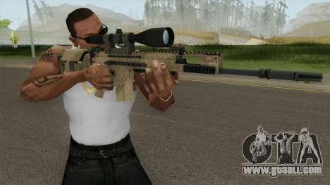 CS-GO SCAR-20 (Sand Skin) for GTA San Andreas