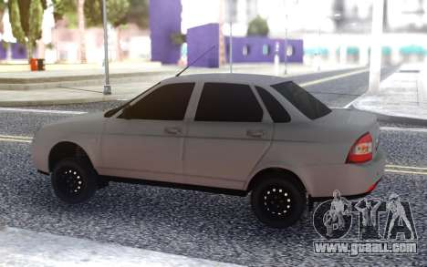 VAZ 2170 Gray for GTA San Andreas