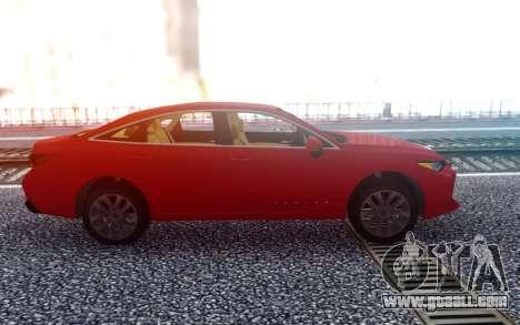 Toyota Avalon 2019 for GTA San Andreas