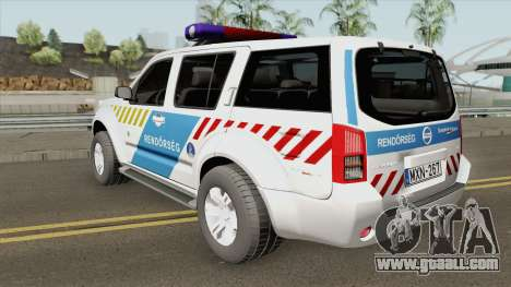 Nissan Pathfinder Magyar Rendorseg (Feher) for GTA San Andreas