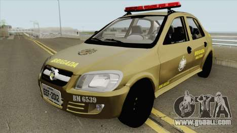 Chevrolet Prisma Brazilian Police for GTA San Andreas