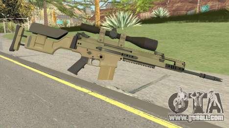 CS-GO SCAR-20 (Default Skin) for GTA San Andreas