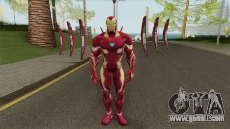Iron Man Mark B Skin for GTA San Andreas