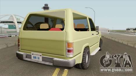 Nissan Patrol 160 (1980) for GTA San Andreas